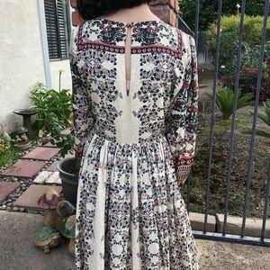 Bhanuni by JYOTI for Anthropologie midi dress